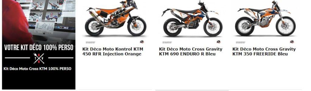 Kid deco moto