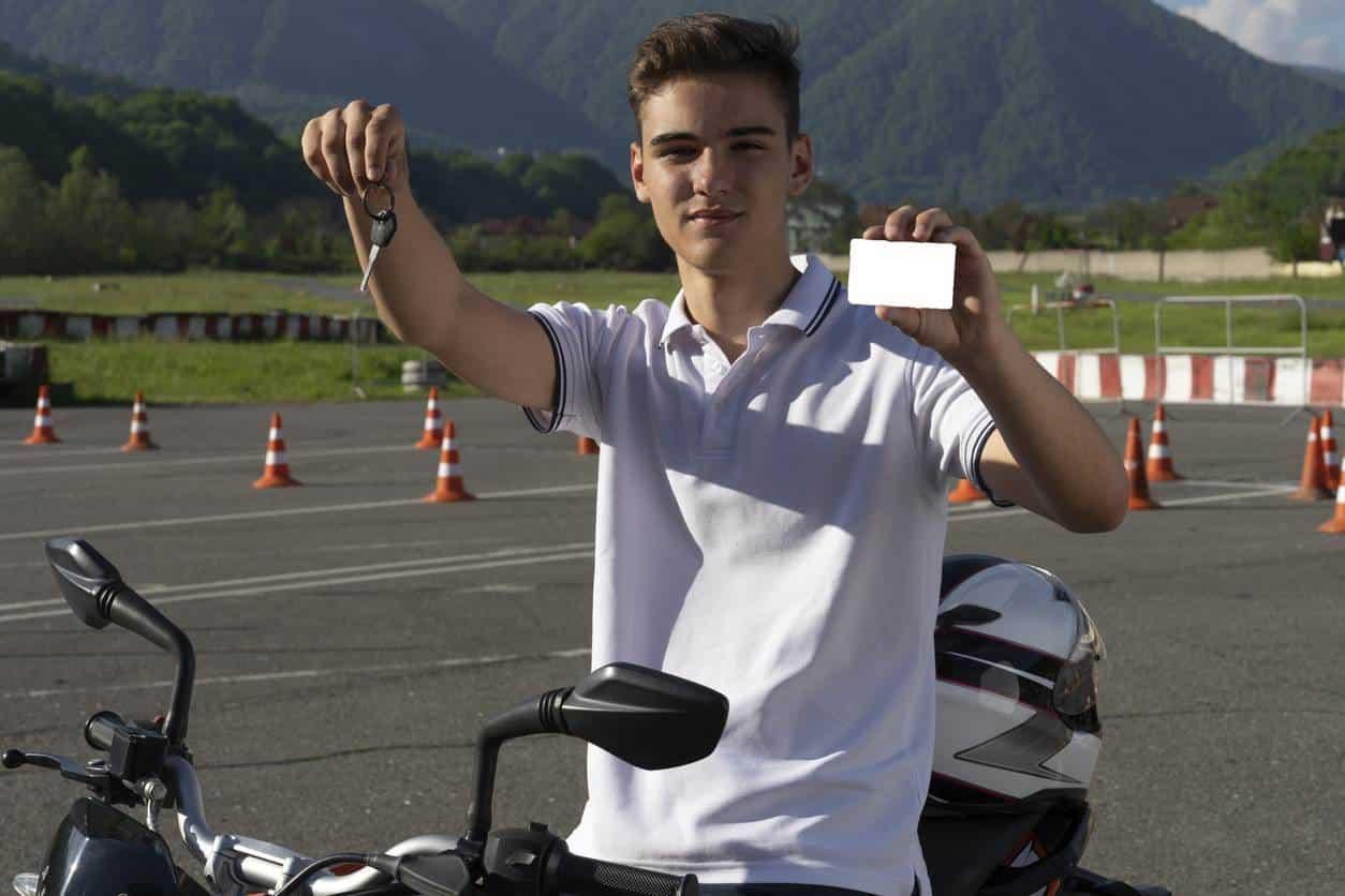 plateau examen permis moto